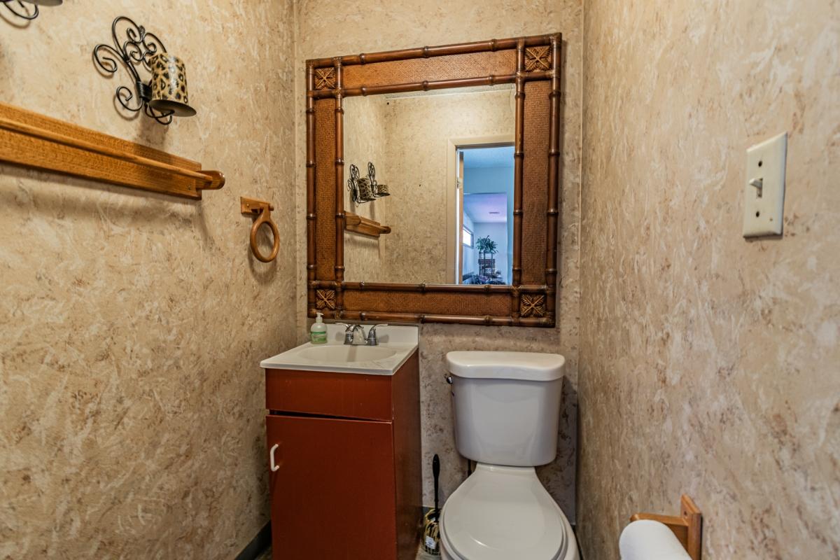 salon restroom