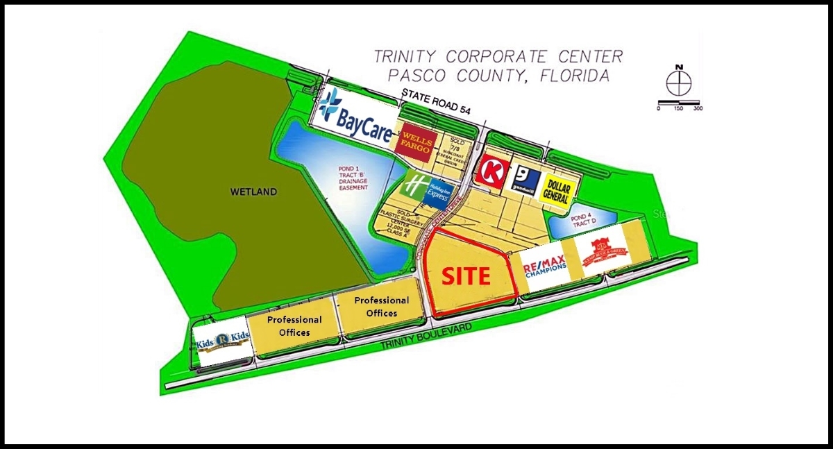 Trinity Corporate Center Site Plan