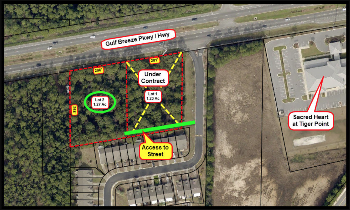 Aerial-In-Marked-Lot 2