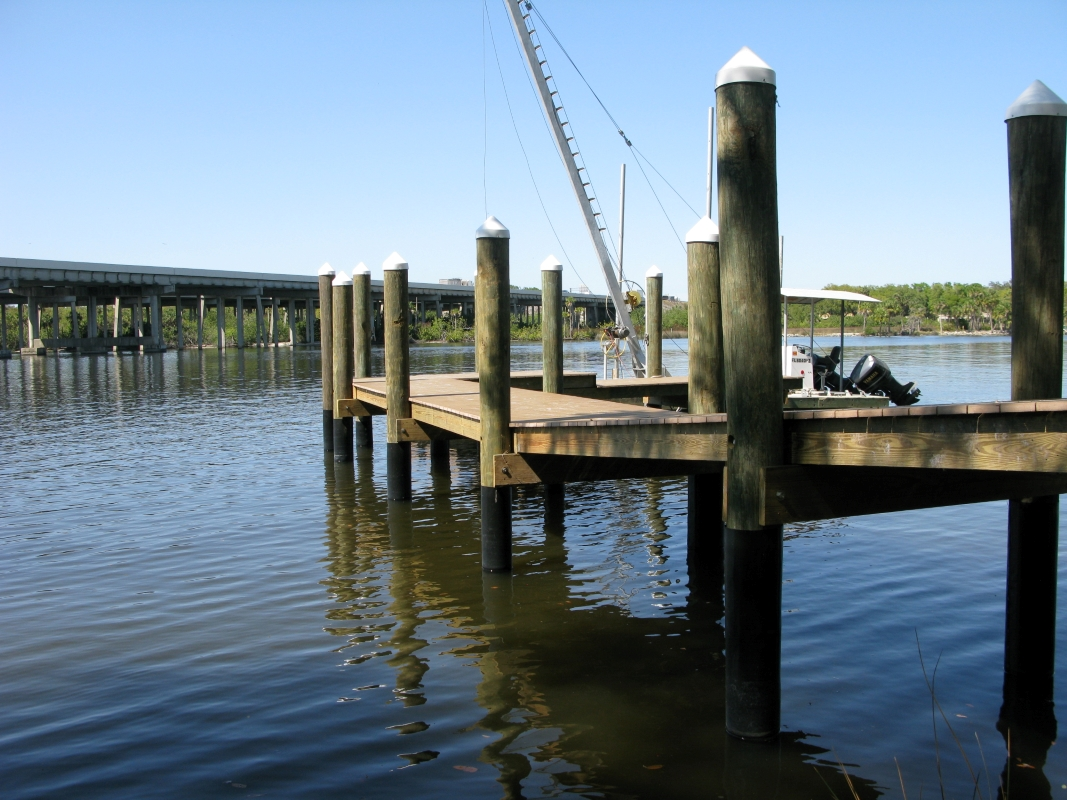 New Dock on Site