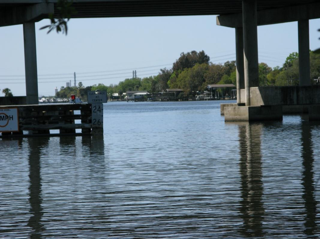 High Clearance under I-75 Bridge