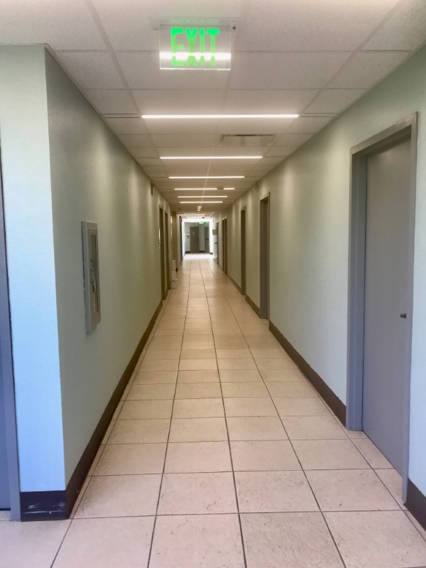 Common Hallways thru Building
