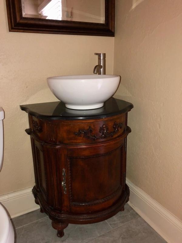 Second Story Bathroom Vanity