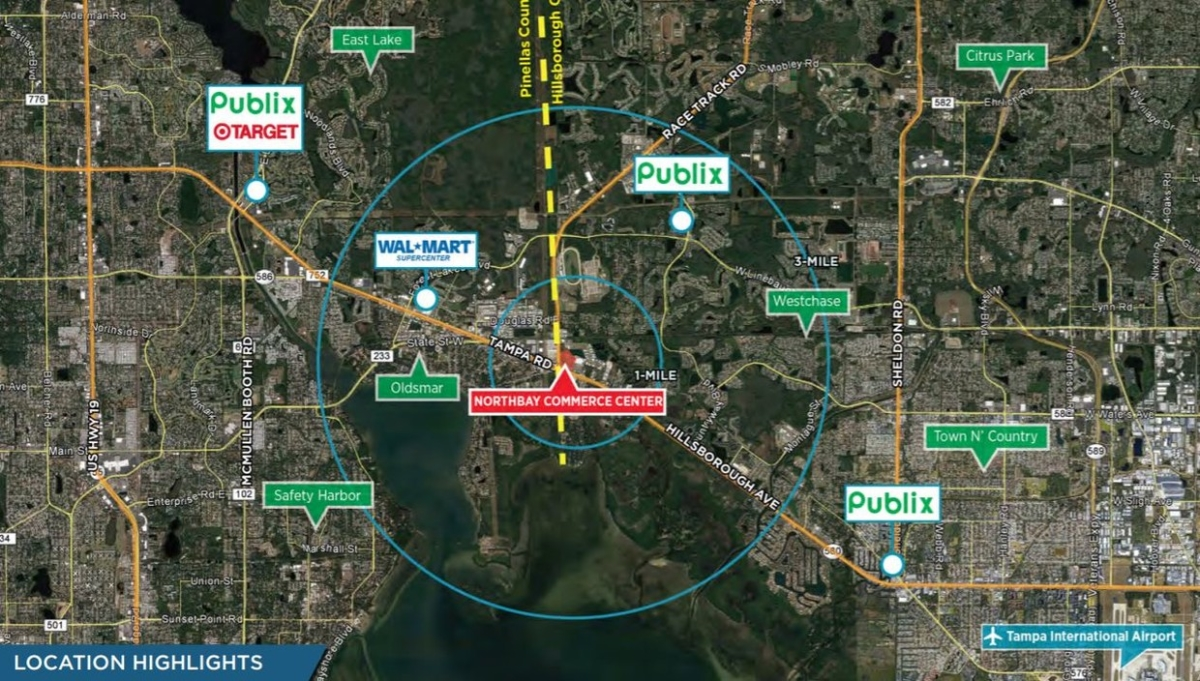 Central to Hills and Pinellas