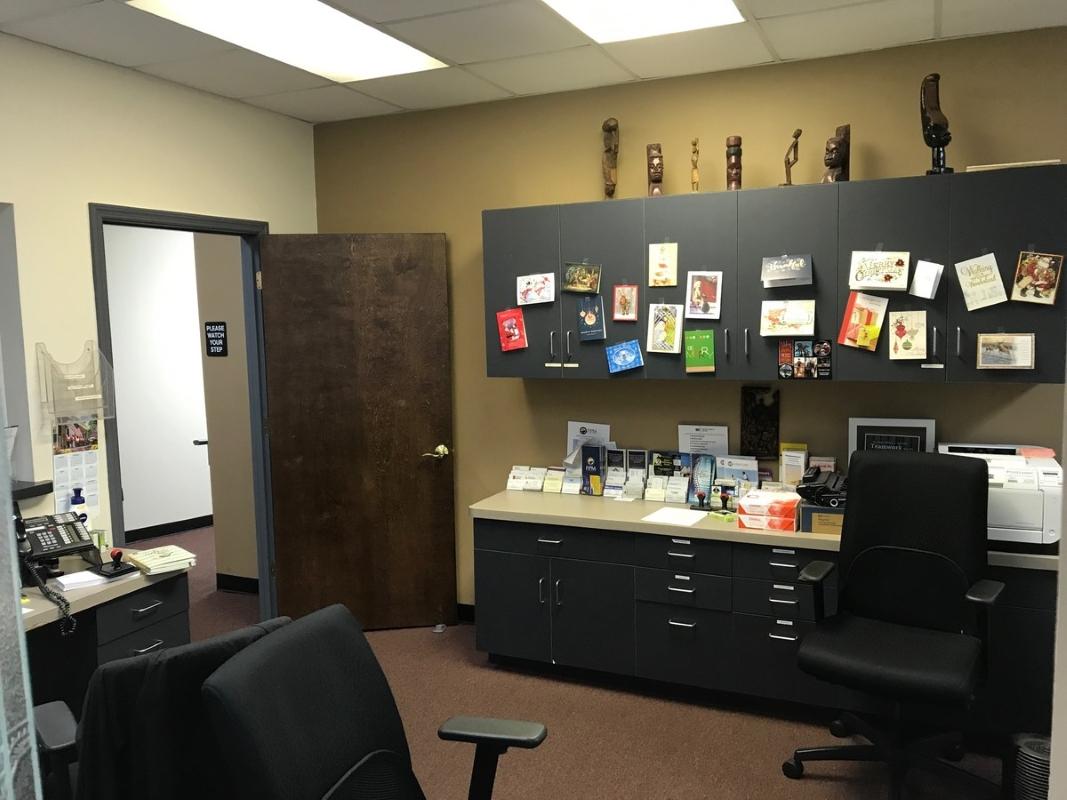 Staff Work Station