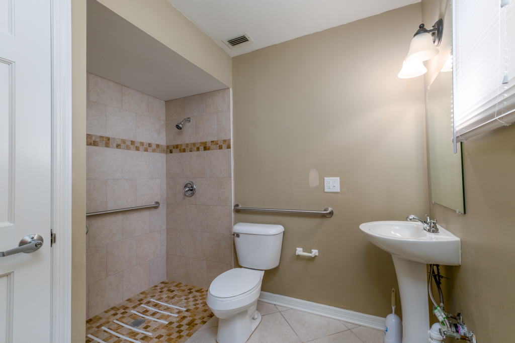Wheelchair Accessible Bathroom Two