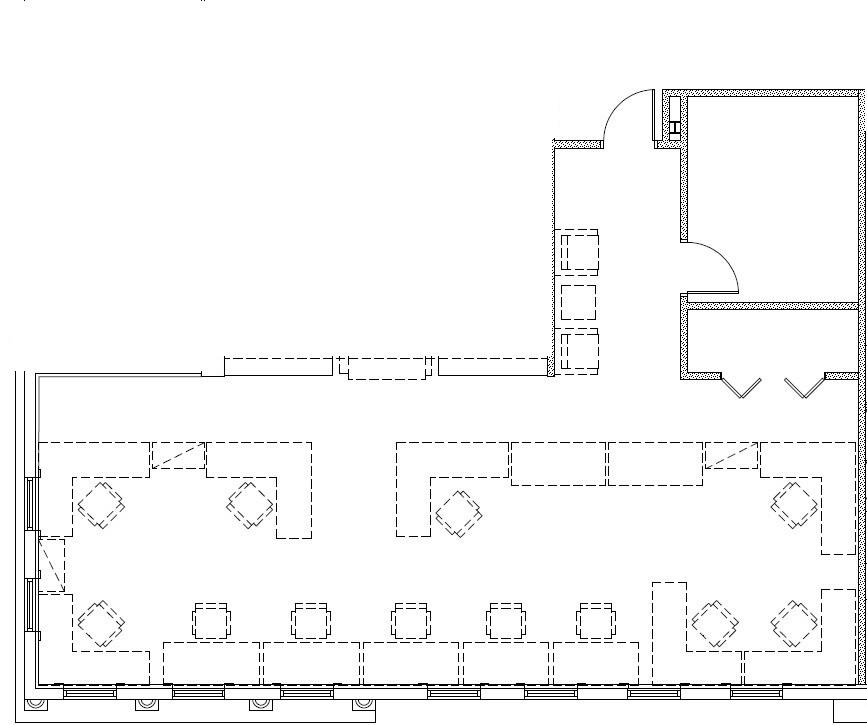 Suite 201 Floor Plan (second floor)